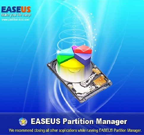برنامج EaseUS Partition Master Technician v10.8 Multilang