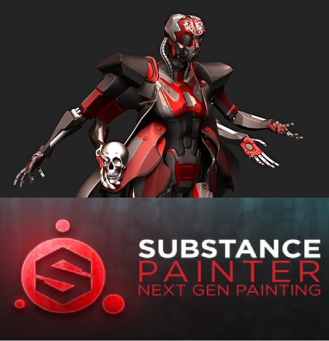 برنامج الرسم Allegorithmic Substance Painter v1.5.7.866