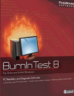 برنامج PassMark BurnInTest Pro 8.1 Build 1010