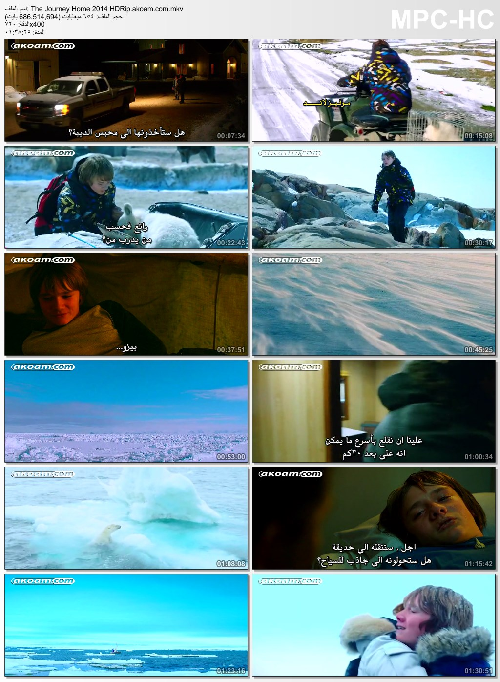 The Journey Home,The Journey Home 2015,المغامرات,العائلي,Midnight Sun