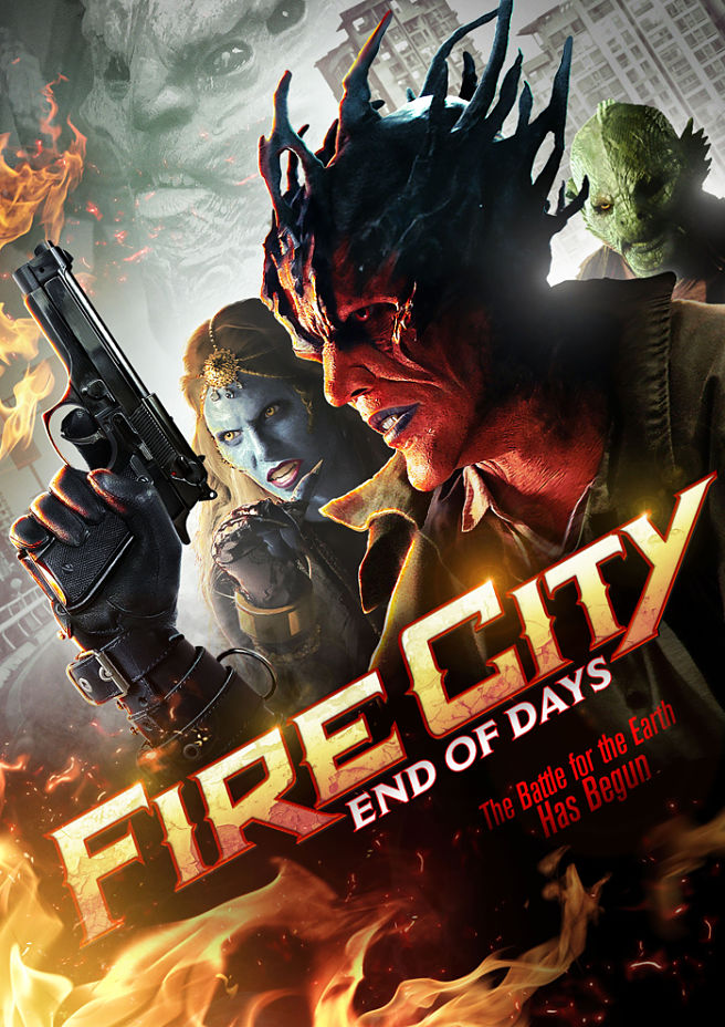فيلم Fire City: End of Days 2015 مترجم
