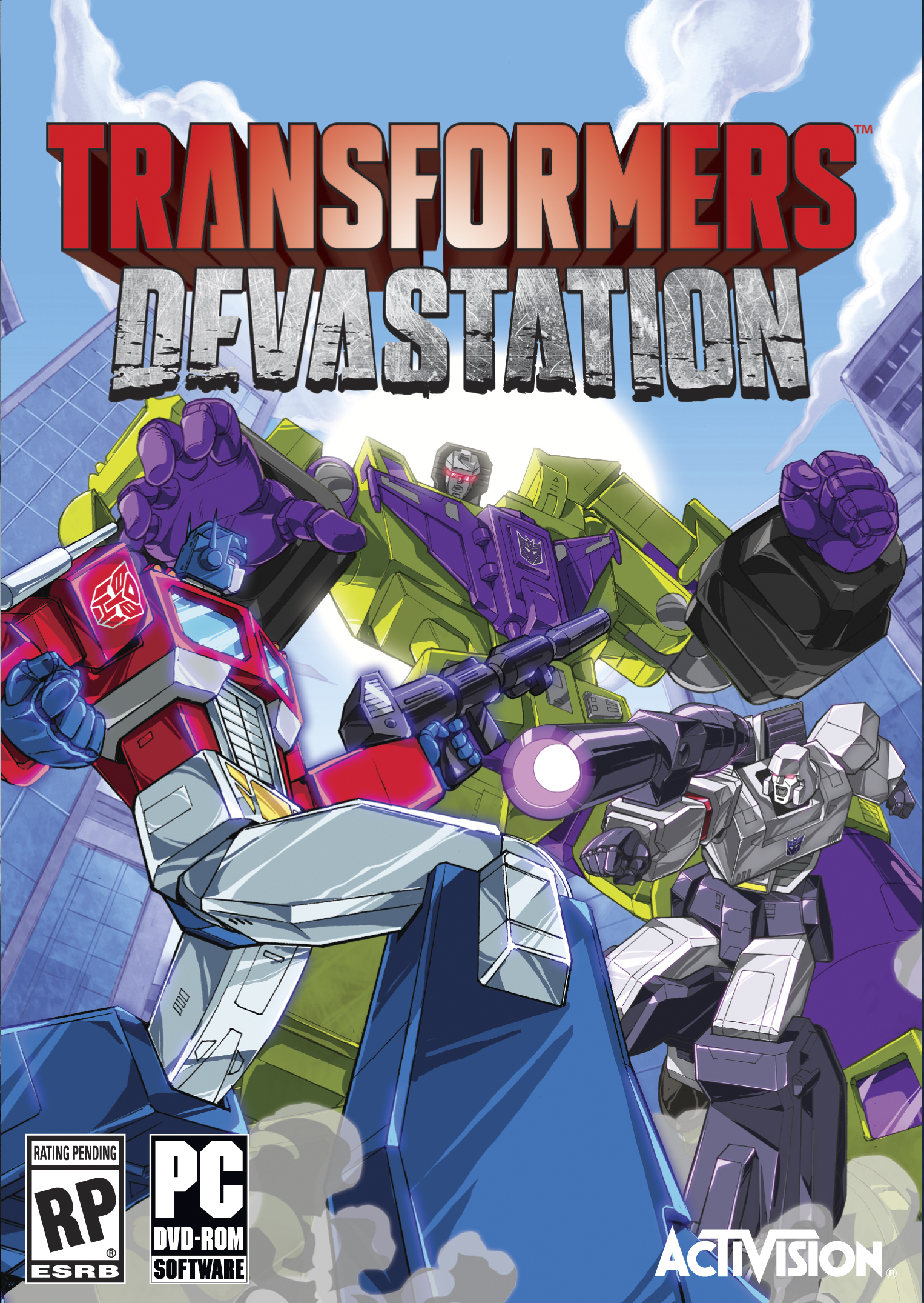 لعبة Transformers.Devastation بكراك CODEX