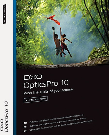 برنامج DxO Optics Pro 10.5.0 Build 775 Elite