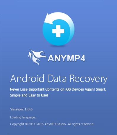 برنامج AnyMP4 Android Data Recovery 1.0.6.43520 Multilingual
