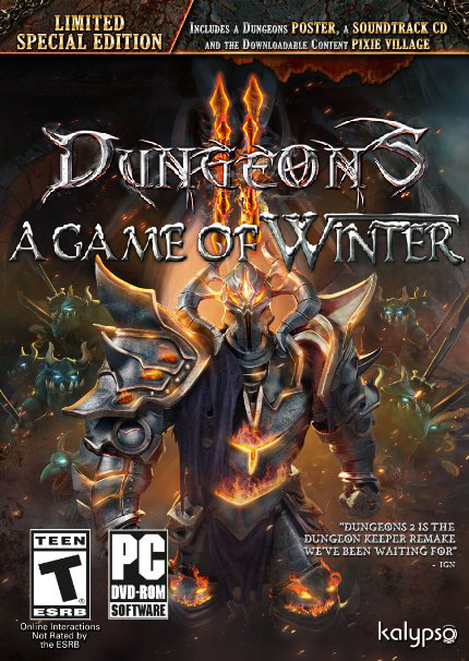 لعبة Dungeons 2 - A Game of Winter بكراك CODEX