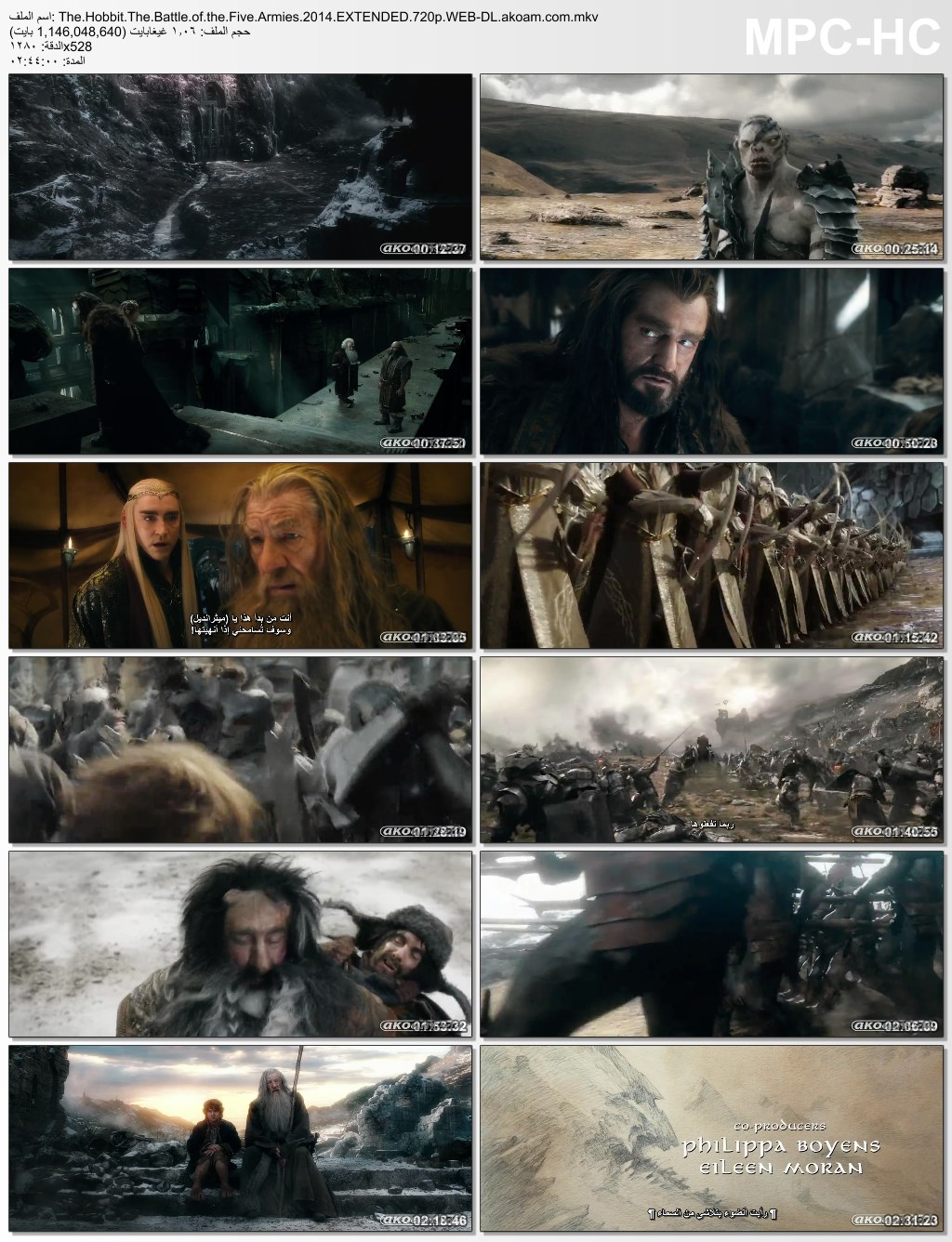 الاكشن,الملحمي,The Hobbit: The Battle of the Five Armies,The Hobbit,هوبيت