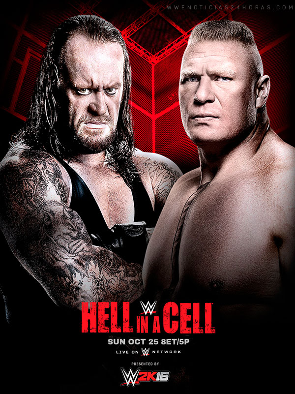 مهرجان WWE Hell In A Cell 2015