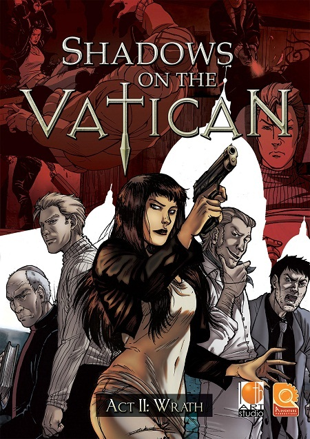 لعبة Shadows on the Vatican Act II: Wrath بكراك RELOADED