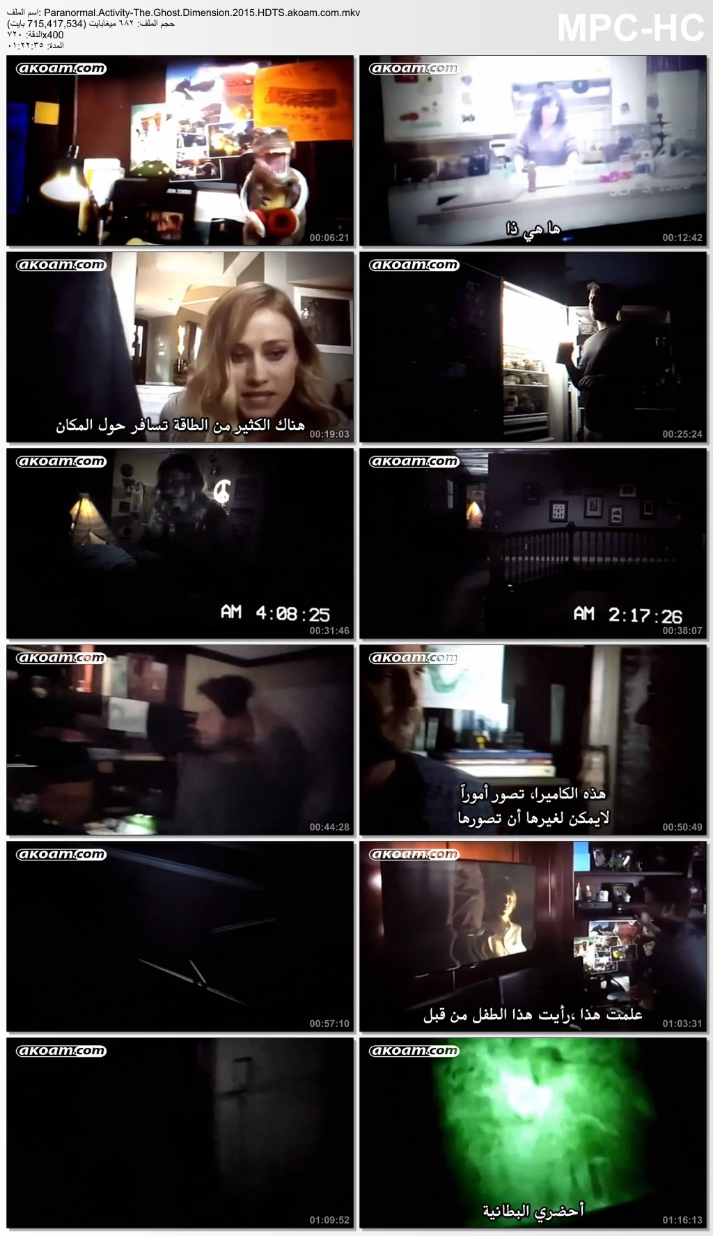 الرعب,Paranormal Activity: The Ghost Dimension,بوكس اوفيس,Paranormal Activity
