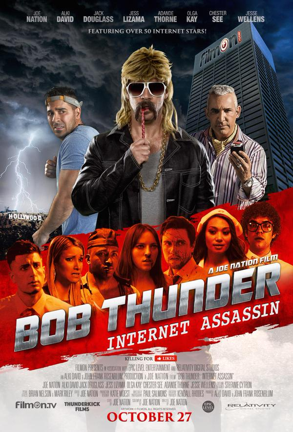 فيلم Bob Thunder: Internet Assassin 2015 مترجم