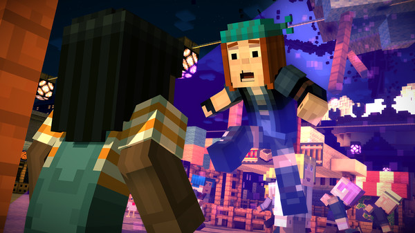 Minecraft,Story,Mode,Episode,CODEX,games,adventure,العاب,مغامرة,ماين,كرافت