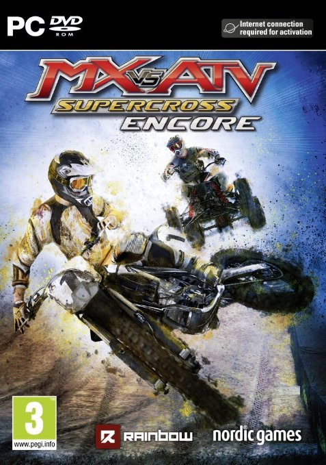 لعبة MX vs. ATV Supercross Encore بكراك CODEX
