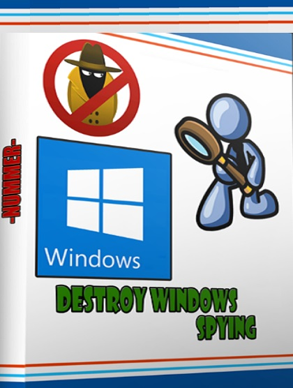 برنامج Destroy Windows 7,8.1,10 Spy v1.5 Build 535
