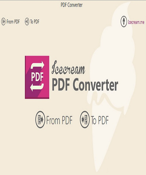 برنامج Icecream PDF Converter Pro 1.67 Multilingual