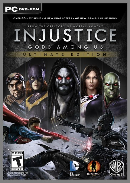 لعبة Injustice - Gods Among Us Ultimate Edition ريباك