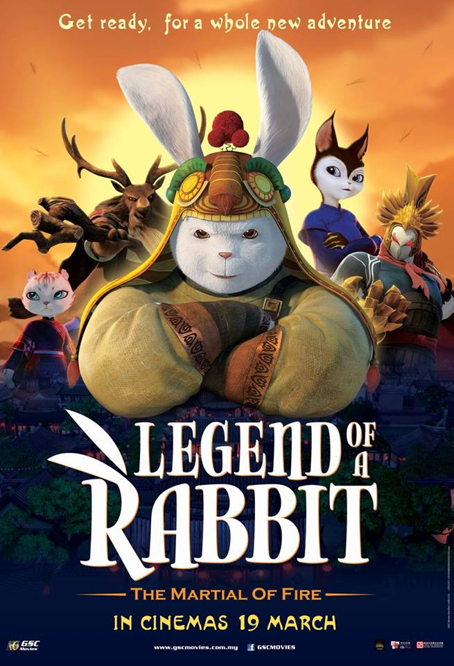 فيلم Legend of a Rabbit: The Martial of Fire 2015 مترجم