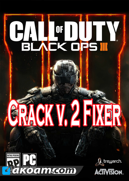 كراك Call Of Duty Black Ops III Crack v2 Fixer