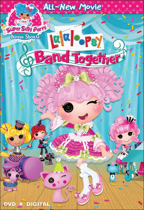 فيلم Lalaloopsy Band Together 2015 مترجم