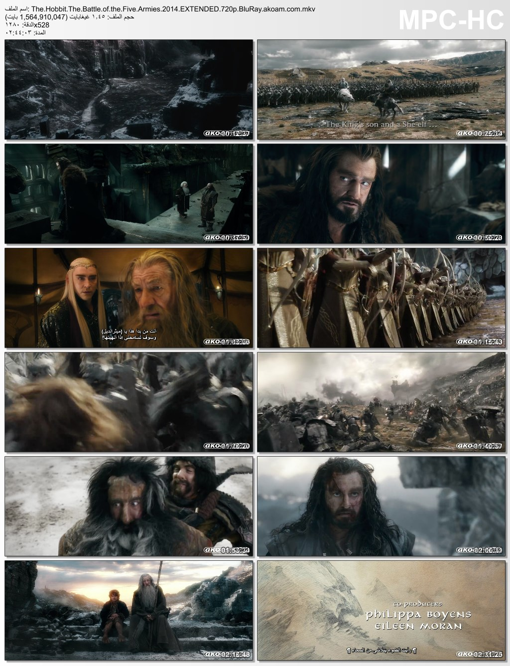 The Hobbit: The Battle of the Five Armies,The Hobbit: The Battle of the Five Armies 2014,هوبيت,الملحمي,المغامرات,الفانتزيا