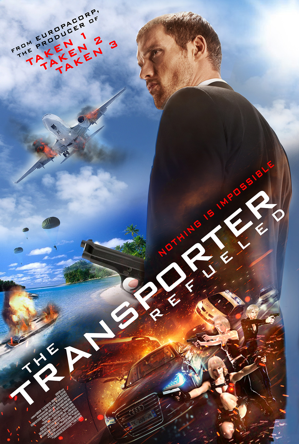 فيلم The Transporter Refueled 2015 مترجم