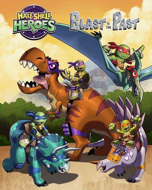 فيلم Half-Shell Heroes: Blast to the Past 2015 مترجم