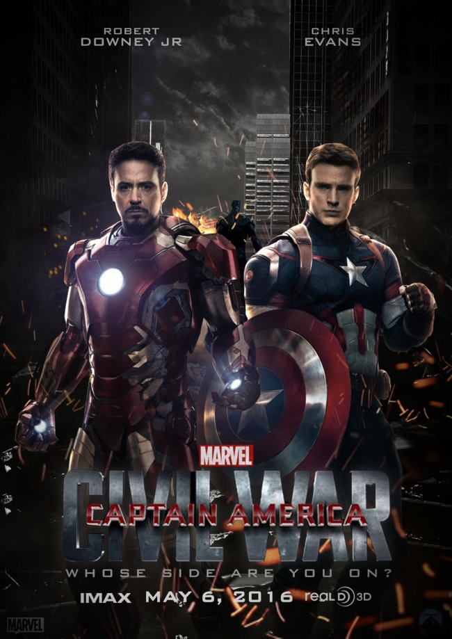 اعلان فيلم Captain America: Civil War 2016 مترجم