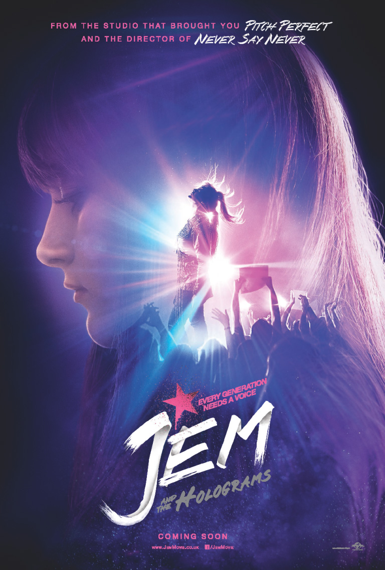 فيلم Jem and the Holograms 2015 مترجم