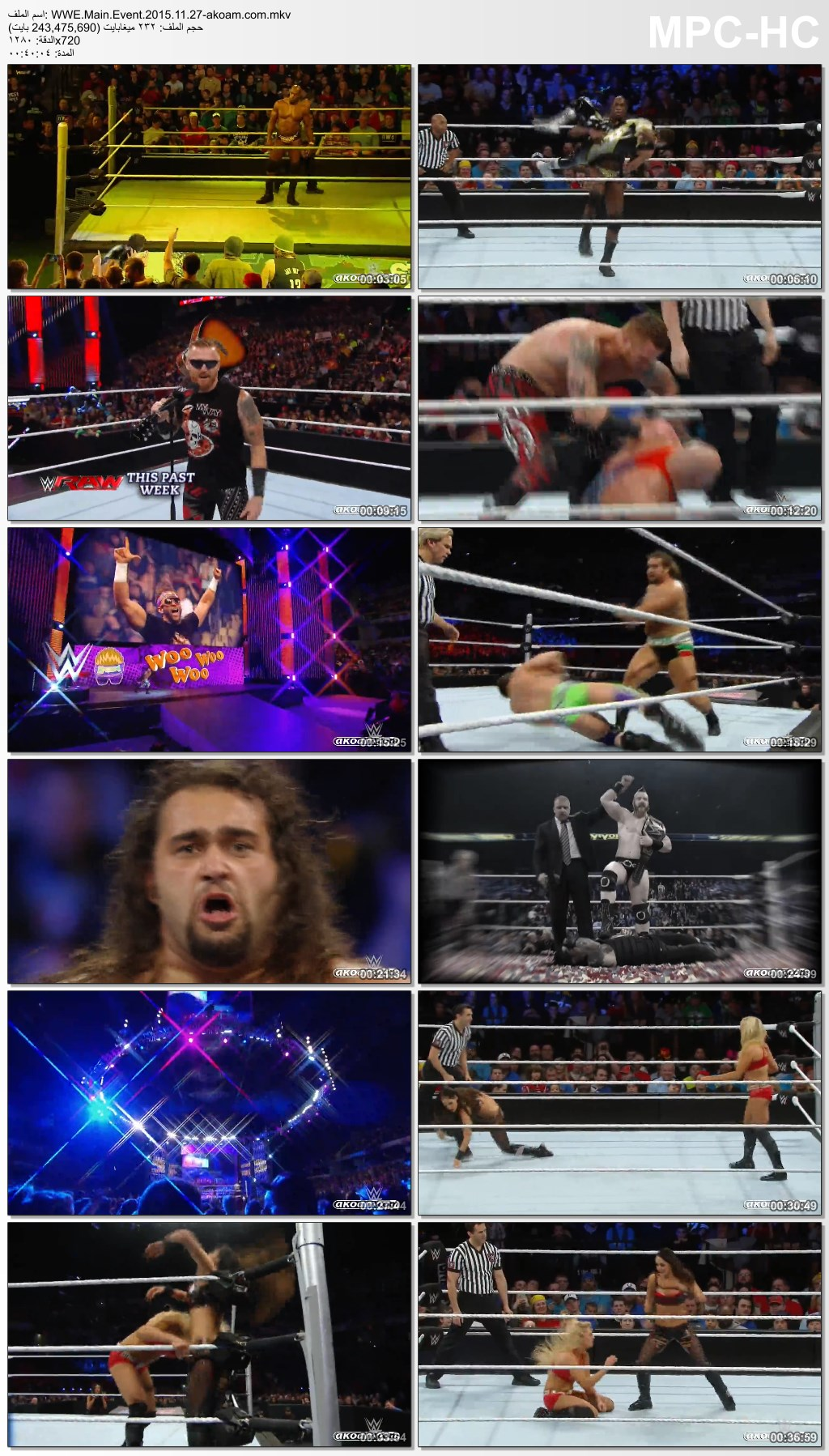 Main,Event,WWE Main Event