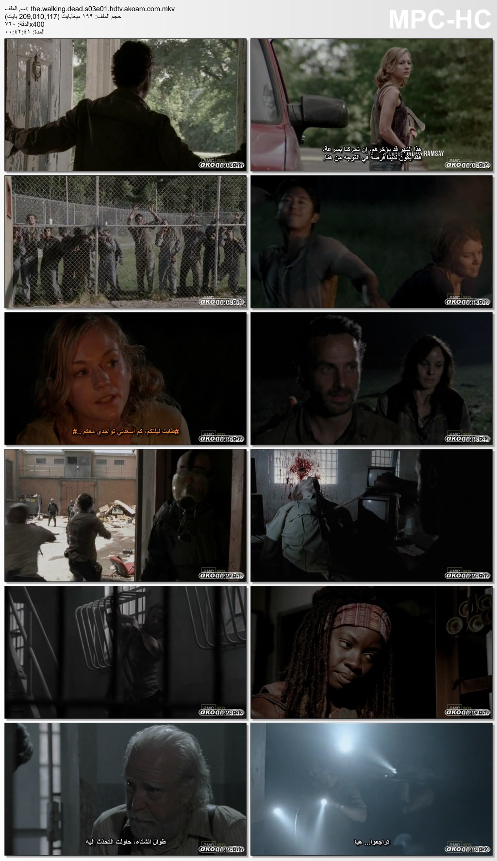The Walking Dead,The Walking Dead s3,The Walking Dead 2012,الرعب