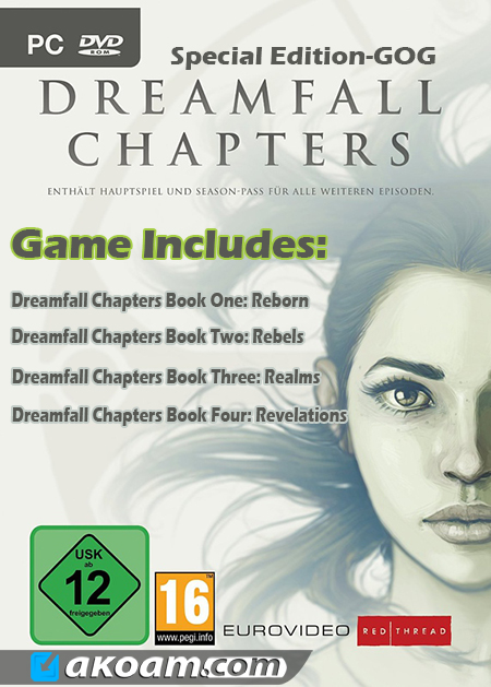 لعبة Dreamfall Chapters Book 1-4 Special Edition-GOG
