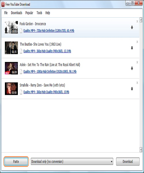 برنامج Free YouTube Download 4.0.8.1127