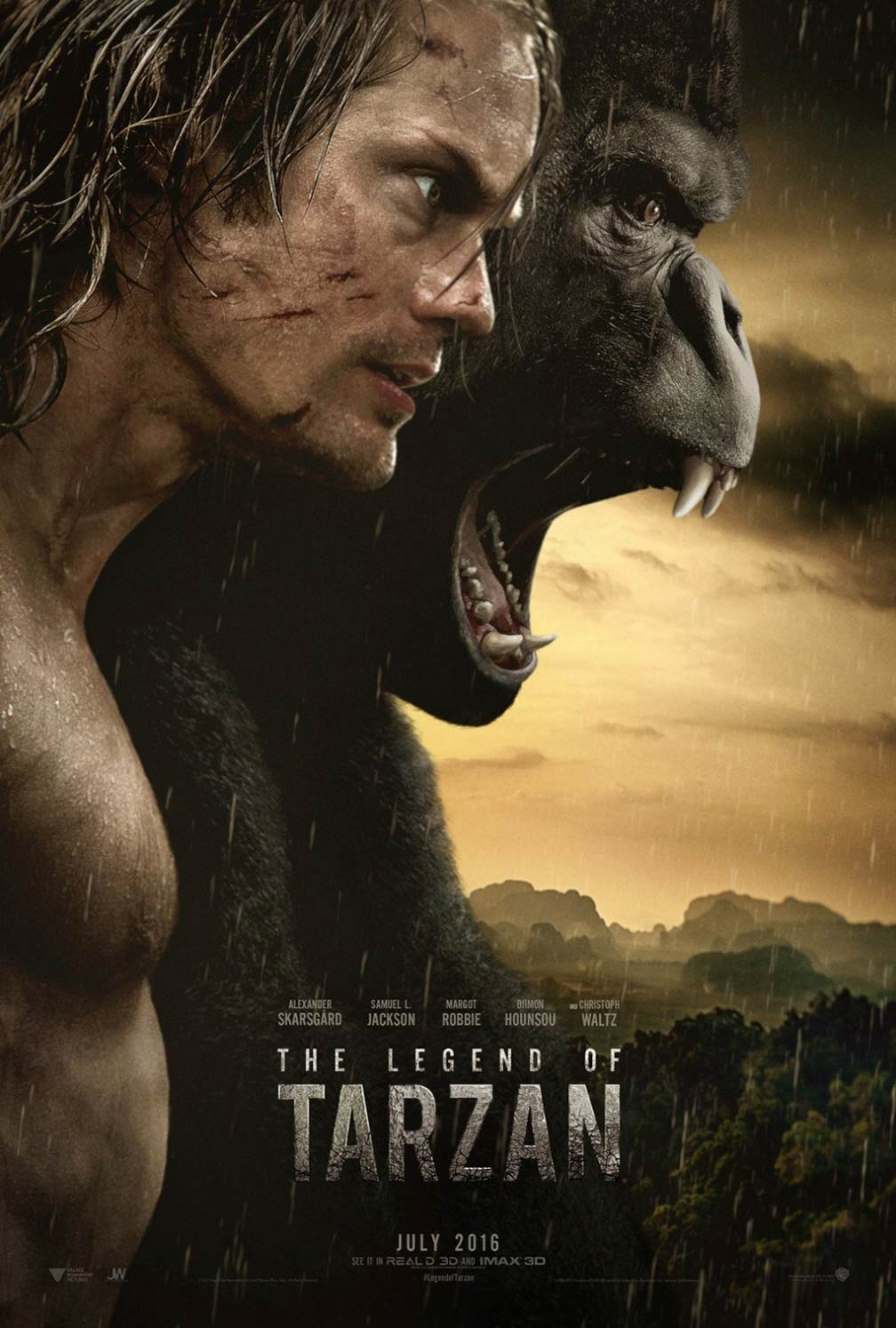 اعلان فيلم The Legend of Tarzan 2016 مترجم