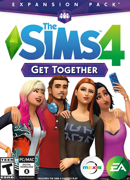 لعبة The Sims 4 Get Together بكراك RELOADED