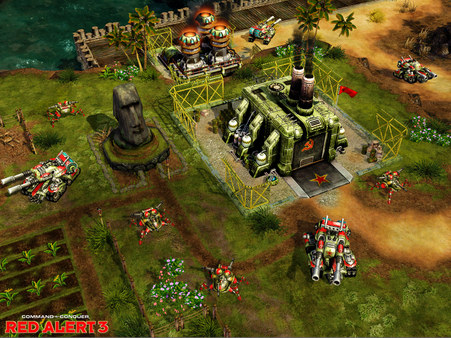 Command,Conquer,Alert,RELOADED,Red Alert 3,Command And Conquer Red Alert 3,strategy,games,العاب,استرتيجية,ريد الرت 3
