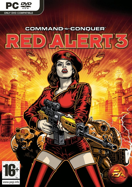لعبة Command And Conquer Red Alert 3 بكراك RELOADED
