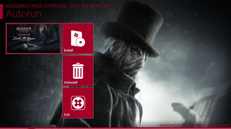 Assassin's,Syndicate,Creed,Jack,Ripper,v1.31,Assassins Creed Syndicate Update 3 Inc. Jack the Ripper DLC Only CorePack,ADVENTURE,ACTION,اكشن,مغامرة,التحديث,الرسمى,الثالث,للعبة,اسيسانز,كريد,سينديكات,ASSASSINS