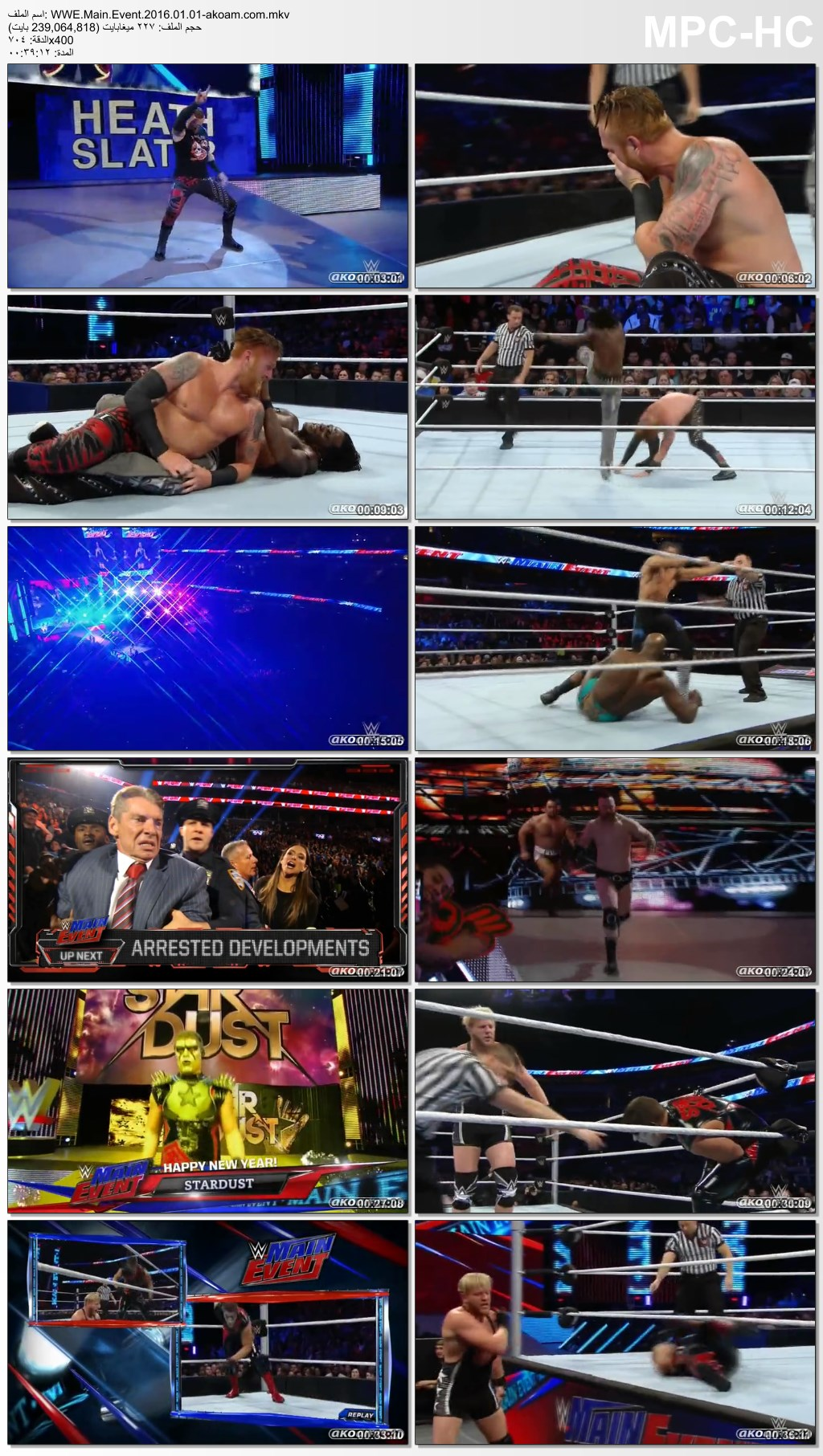 Main,Event,WWE,WWE Main Event 2015.12.29,WWE Main Event