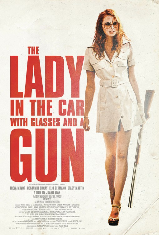 فيلم The Lady in the Car with Glasses and a Gun 2015 مترجم