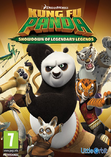لعبة KUNG FU PANDA SHOWDOWN OF LEGENDARY LEGENDS بكراك CODEX