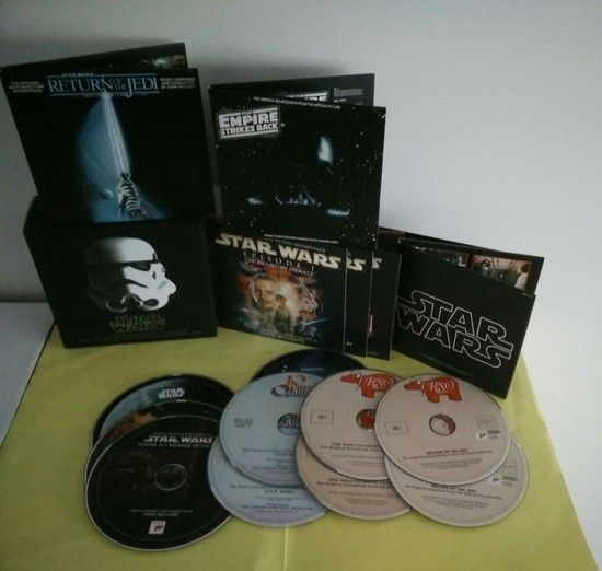 Star Wars The Ultimate Soundtrack Collection,Soundtrack,Star Wars The Ultimate,حرب النجوم
