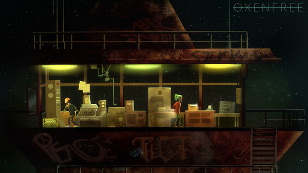 Oxenfree,CODEX,ADVENTURE,INDIE,العاب,مغامرة