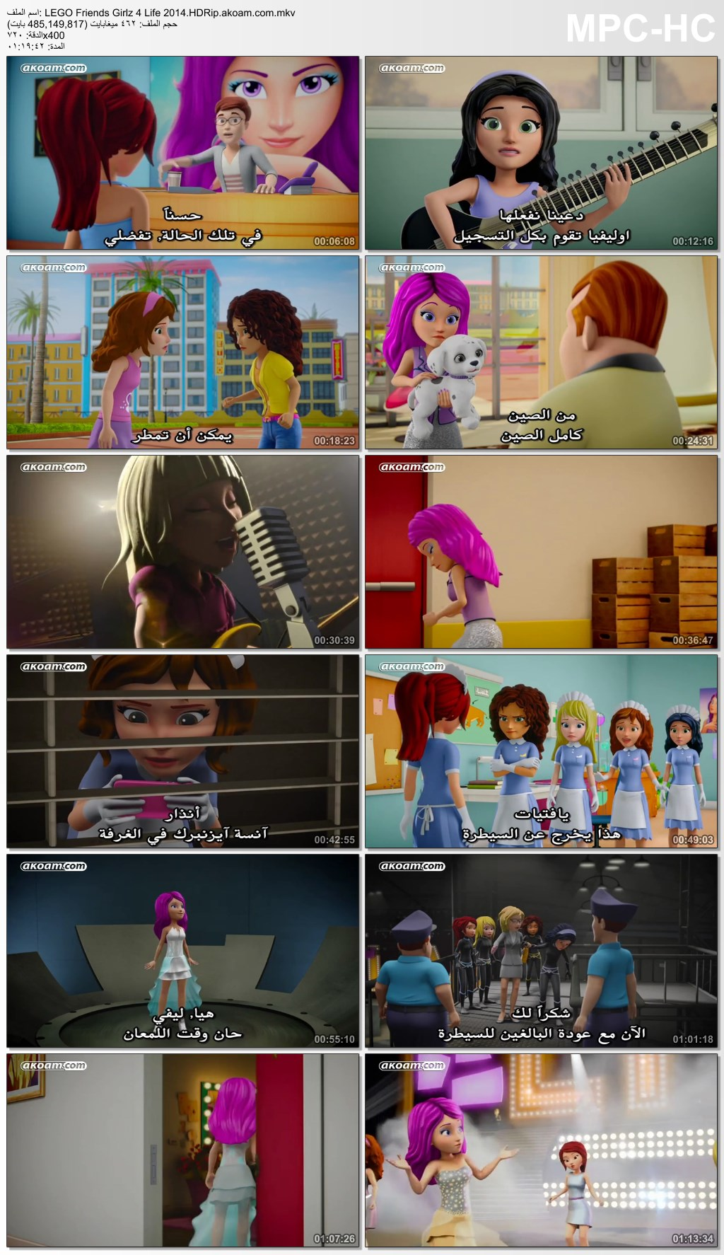 LEGO Friends: Girlz 4 Life,LEGO Friends: Girlz 4 Life 2014,الانمي,الانيميشن