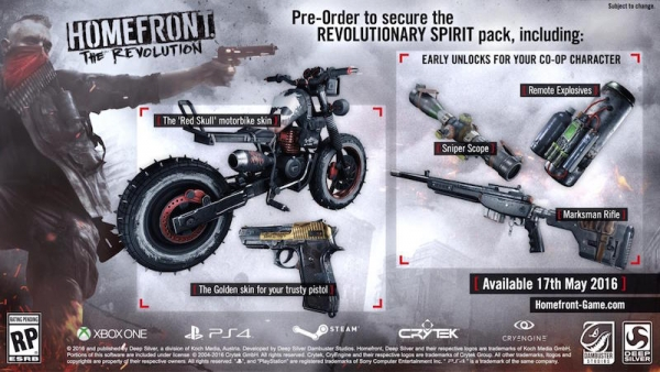 Revolution,Homefront The Revolution,اونلاين,online,mode,coop