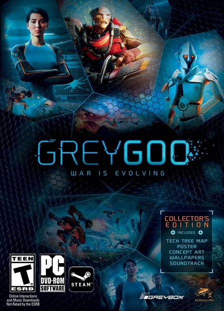 لعبة Grey Goo Definitive Edition بكراك PLAZA