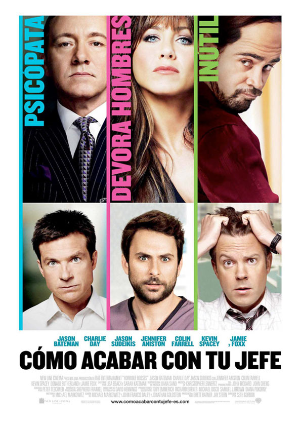 فيلم Horrible Bosses 2011 مترجم