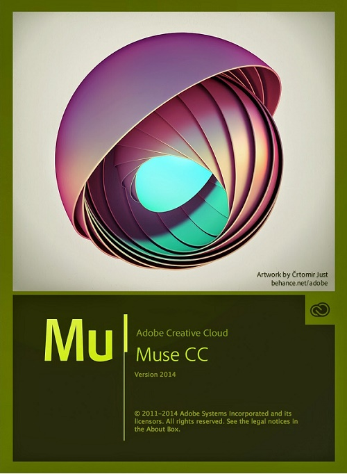 برنامج تصميم Adobe Muse CC v2015.1.0 Multilingual