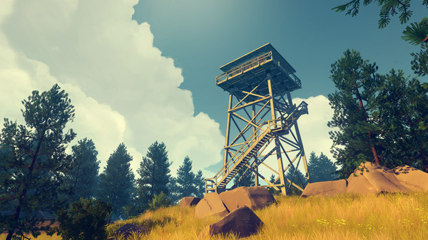 Firewatch,adventure,games,CODEX,العاب,مغامرة
