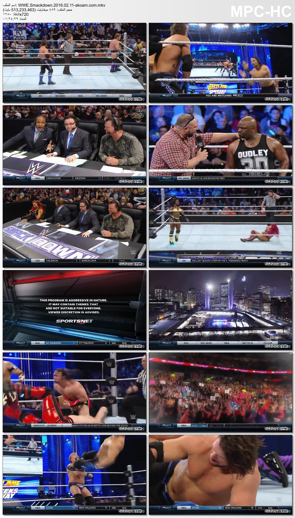 Smackdown,WWE Smackdown,WWE,سماكداون