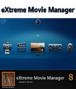 برنامج Extreme Movie Manager v8.5.0.0
