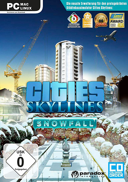 لعبة Cities Skylines Snowfall بكراك CODEX
